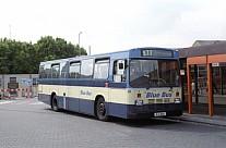 RJI2161 (PYD984V) Rebody Blue Bus,Bolton West Wales,Tycroes