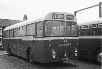 DXD42C Stonier,Goldenhill Green Bus,Rugeley Hillside,Luton