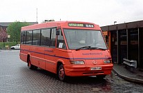 F598FAM First Manchester Bolton Coachways Athelstan,Malmesbury