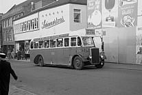 TRE257 Potteries(PMT) Milton Bus Co.,Hanley