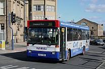 K827NKH FairRider,Huddersfield London Buses