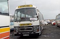 WTU351W Arrowline(Starline).Knutsford Eagles & Crawford,Mold