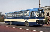 PRA114R Blue Bus,Bolton Vale,Manchester Lancaster CT Trent