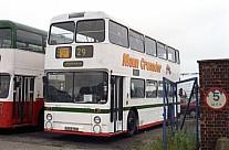 A669HNB Maun,Mansfield GM Buses GMPTE