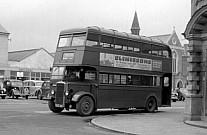 GYE64 Browns Blue Markfield London Transport