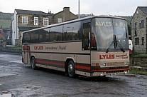 GSU340 (B611VWU) Lyles,Batley Yorkshire Rider WYPTE