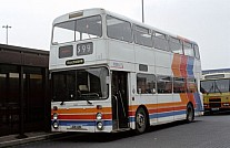 JDB121N Stagecoach Ribble East Midland - Frontrunner(SE) GM Buses GMPTE