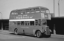 GYE76 Rebody Burrows,Wombwell London Transport