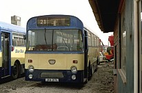 JHA217L Blue Bus,Bolton Irvine,Law Thornes,Bubwith Midland Red South Midland Red
