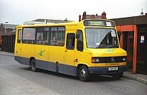 G121PGT South Lancs Travel London Buses