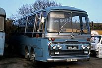 UWX980F Willis,Bodmin Mosley,Barugh Green
