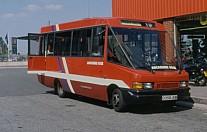 D358JUM Lancashire Rose London Buses