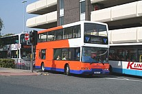 V906FEC Centrebus Huddersfield Bus Co. London Blue Triangle