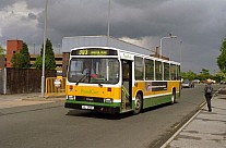 IIL2501 (LJA645P) Rebody Roadcar Sheffield Omnibuses Hyndburn Greater Manchester PTE