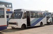 J644LKD North Western Little White Bus,Ormskirk Goosecroft,Denny NCME Demonstrator
