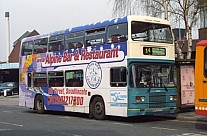 B203DTU Arriva North Midlands Midland Red North Crosville MS