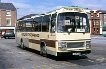 YBN632V Huxleys,Threapwood Aintree Coachlines,Bootle Chester CT GMBuses GMPTE