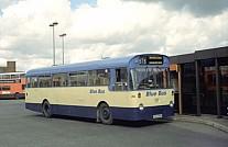 CHA445K Blue Bus,Bolton Midland Red
