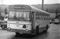 BWU688H West Yorkshire PTE Calderdale JOC Todmorden JOC
