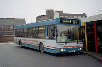 R91GNW Blue Bus,Bolton Capital,West Drayton