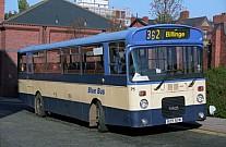 B25ADW Blue Bus,Bolton Rhymney Valley DC