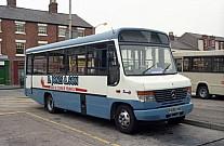 P698HND Jones,Ponciau Cheshire Bus & Coach