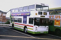 A748NNA First United Welsh Stagecoach Manchester GM Buses GMPTE