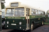 964DTJ Warstones(Green Bus),Great Wyrley Merthyr Tydfil CT Demonstrator