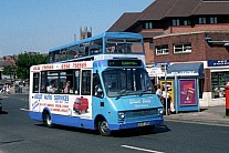 E933UBO Derby CT(Blue Bus) Cynon Valley