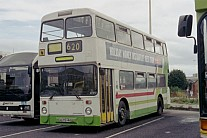 A675HNB United Welsh GM Buses North GMPTE