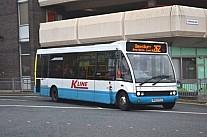 MX03YCZ Yorkshire Tiger K-Line Honley Hampron & Furness Glossop