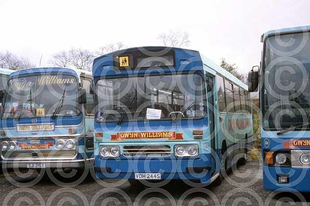 VDH244S Rebody GlynWilliams,Crosskeys First Cymru RiderYork Birmingham Coach Co, NationalTravel West