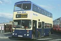 CWG691V Blue Bus,Bolton Mainline SYPTE