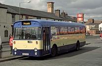 EAW623L (KNY924L) Blue Bus,Bolton South Lancs Vale of Llangollen Rhymney Valley DC Caerphilly UDC