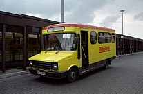 D128NON Ribble MS Manchester Minibuses