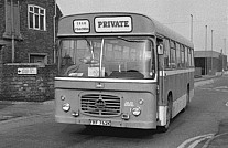 FRF762K Bannister,Owston Ferry BMMO Green Bus,Rugeley