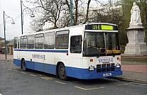 UIL7814 (EYH802V) Rebody Northern Blue,Burnley Luton & Dist. Parfitts,Rhymney Bridge Grey Green,N15