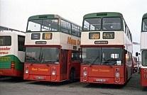 A684HNB Maun,Mansfield GM Buses GMPTE