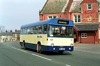 BWU691H Blue Bus,Bolton WYPTE Calderdale JOC Todmorden JOC