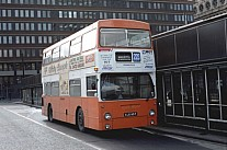 KJD95P Pennine Blue Grimsby Cleethorpes London Transport