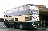 324YNU Blue Bus(Tailby&George),Willington