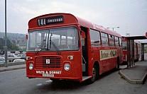 AFB591V Wilts & Dorset Hants & Dorset Bristol OC