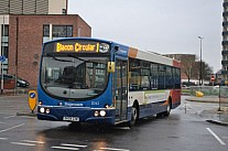 DK09GXW Stagecoach Chester & Wirral First Potteries