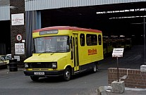 D129NON Ribble MS Manchester Minibuses