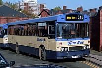 A667KUM Blue Bus,Bolton Yorkshire Rider WYPTE