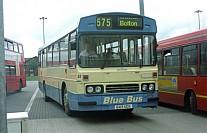 B43UCK Blue Bus,Bolton Fylde BC