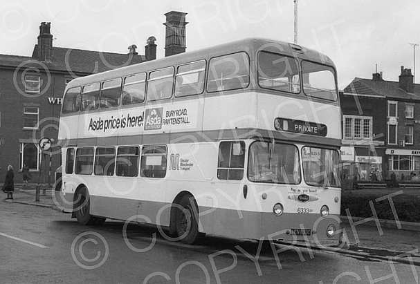 AEN833C Greater Manchester PTE SELNEC PTE Bury CT