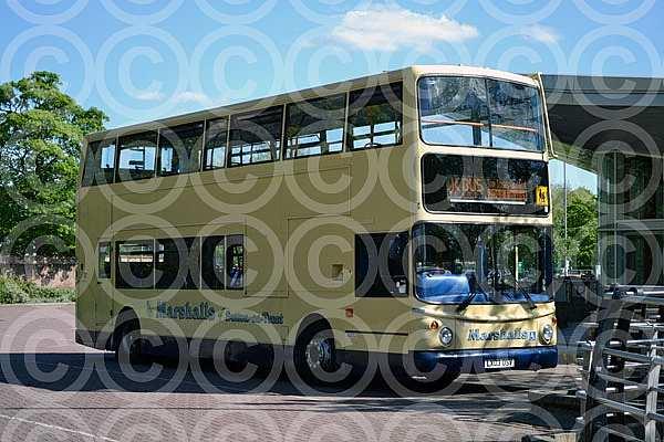 LX03OSV Marshall,Sutton-on-Trent Stagecoach East London
