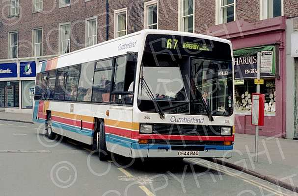 C544RAO Stagecoach Cumberland Ribble Demonstrator