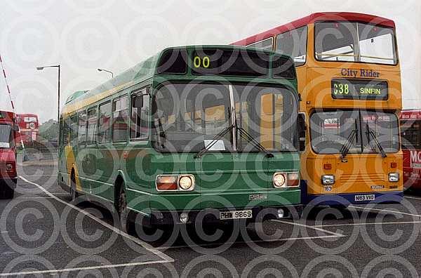 PHW986S Trent Barton Bristol OC